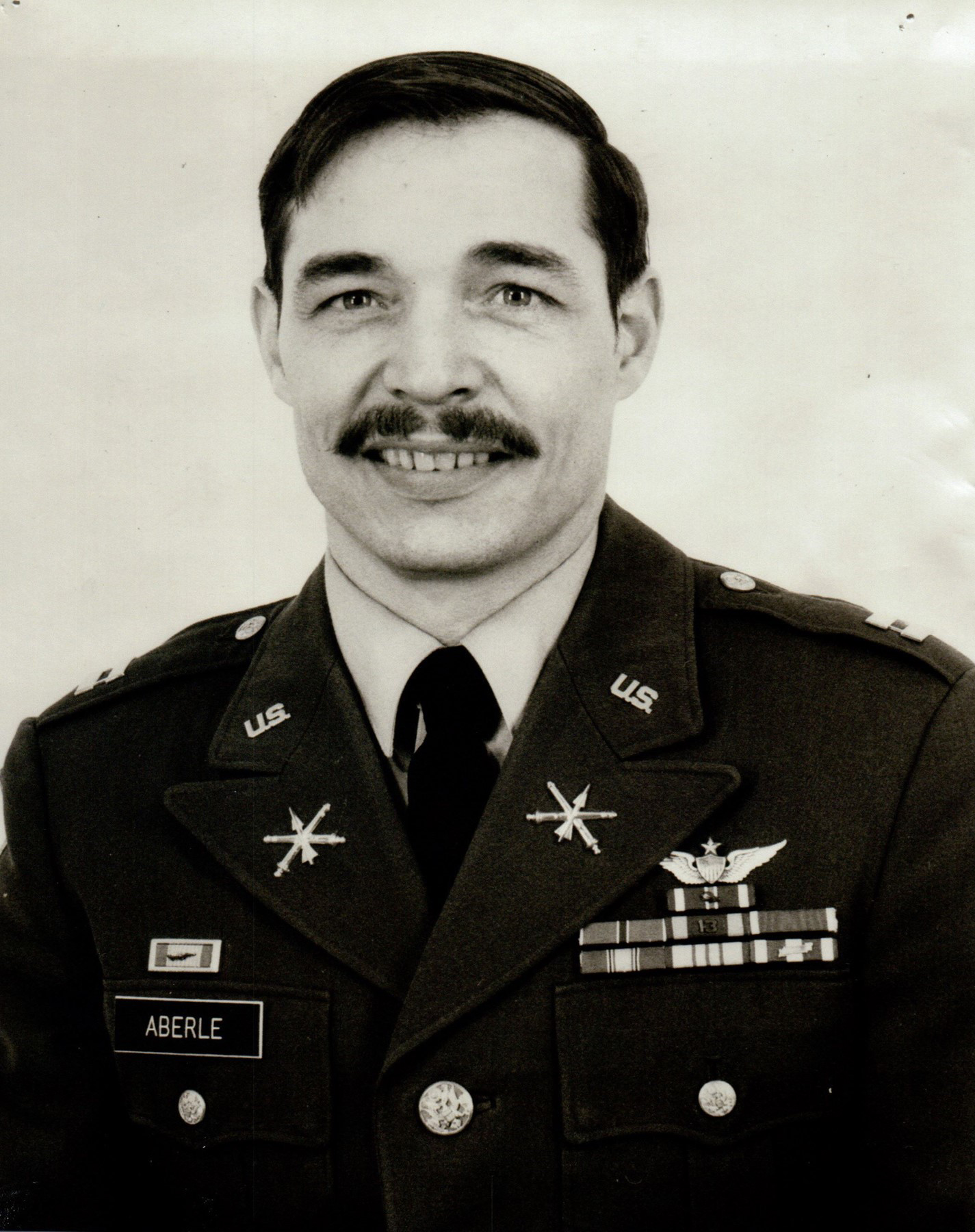 Vincent Aberle was career Army pilot